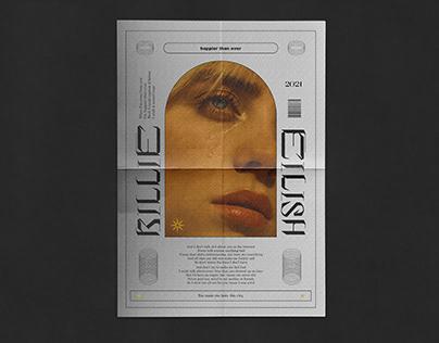 BILLIE EILISH - Poster & Album Design