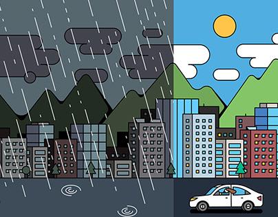 Honda illustrations