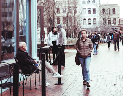 Asheville Street Photography