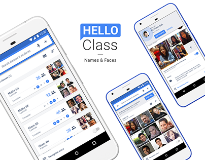 Hello Class — Names & Faces