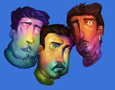 sick faces