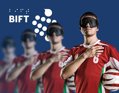 BIFT — Cайт о турнире по футболу для слепых