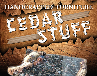 Cedar Stuff Rackcard Design