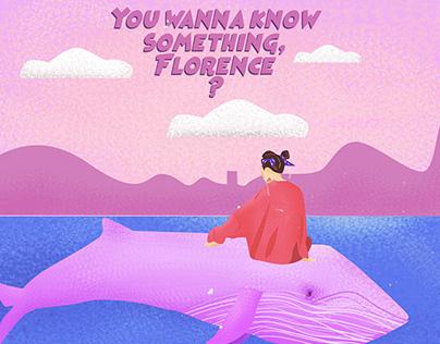 Quadrinhos - Florence | Reconhecido por Millie Brown