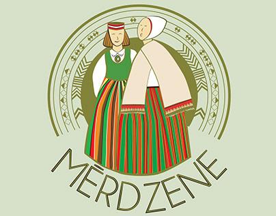 Logo design for flag