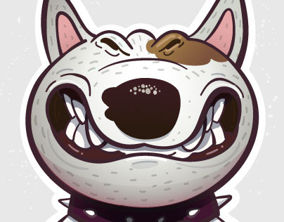 Bullterrier stickers