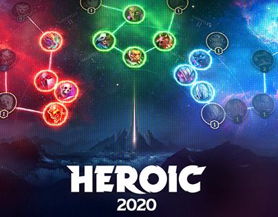 Heroic 2020 UI