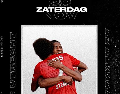 Matchday Poster FCU-AZ