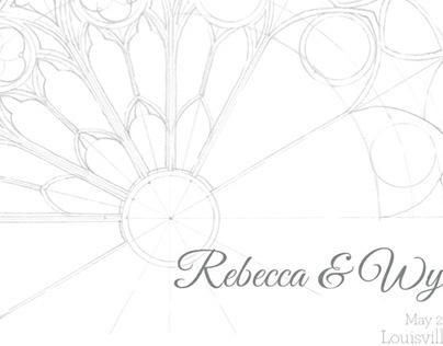 Save-the-Date, Rebecca & Wyatt