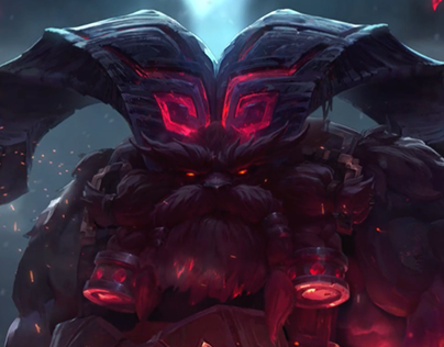 Ornn - League of Legends - Login Screen