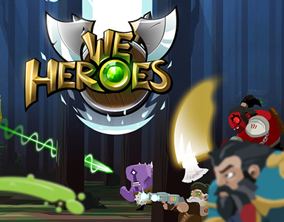 We Heroes - Ancients game art