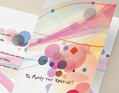 Greeting Cards - Invitation