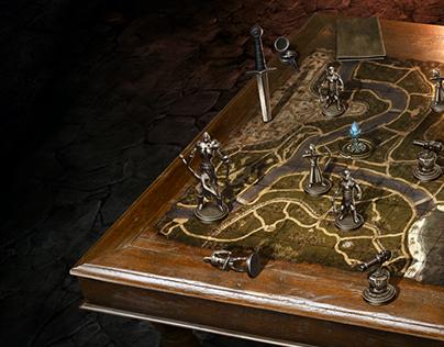 Illustration - War Table