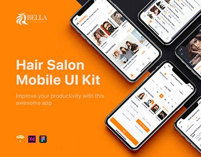 Bella - Hair Salon UI Kit
