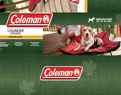 Package Design - Pet Brands, Inc. - Coleman Licensee