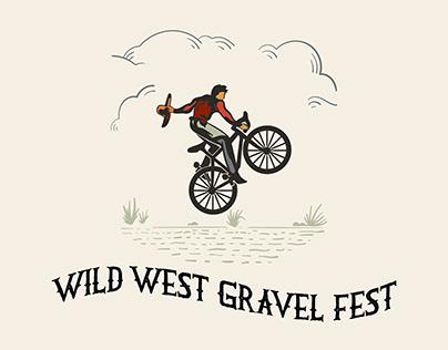 Wild West Gravel Fest Logo and Poster Design