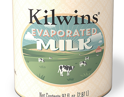 Kilwins Evaporated Milk Can