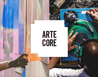 Arte Core Festival Brand