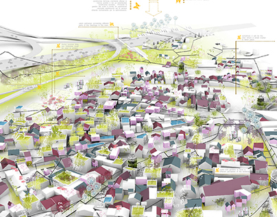 Europan Competition. Loures. 2007. SECOND PRIZE