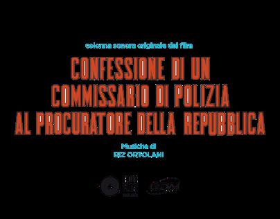 """""""CONFESSIONE DI UN.."""" COVER REWORK X FOUR FLIES RECORDS"""