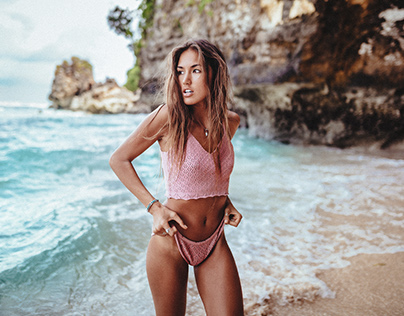 at the beach // with danielle