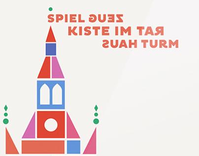 Spielzeugkiste, Design-Proposal for Toy Museum Munich