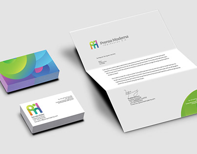 Prensa Moderna / Diseño de Imagen - Brand Design