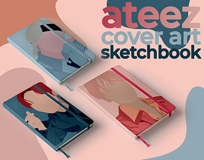 COVER ART ATEEZ - sketchbook