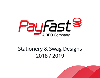 PayFast: Stationery & Swag 2018 /2019