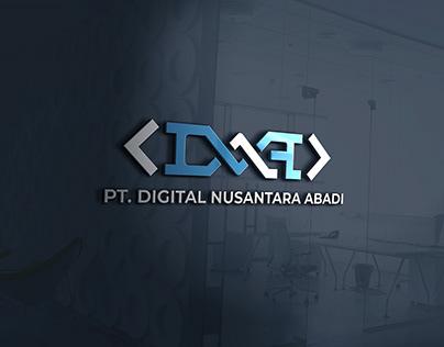 """Logo Company """"DNA"""" .. :)"""