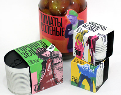 Packaging of canned food