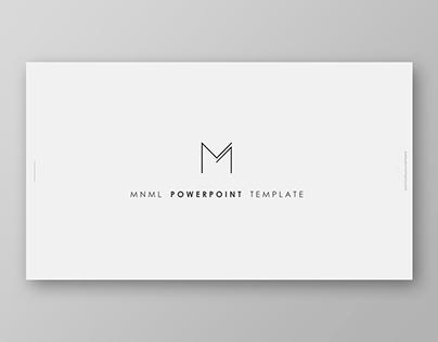 MNML Powerpoint Template