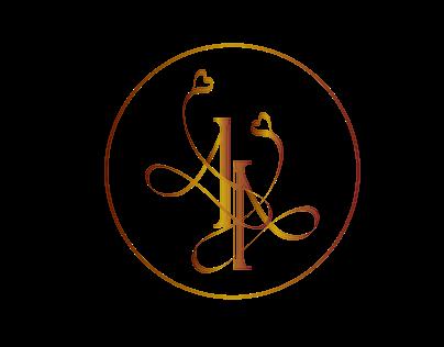 AA logo for wedding back drop
