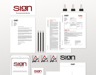 SIGN - personal brand identity