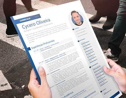 Currículo │ Resume │plus Mockup Psd Free