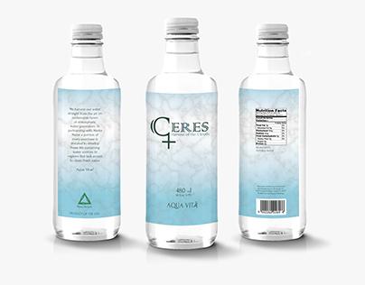 Ceres Water Branding