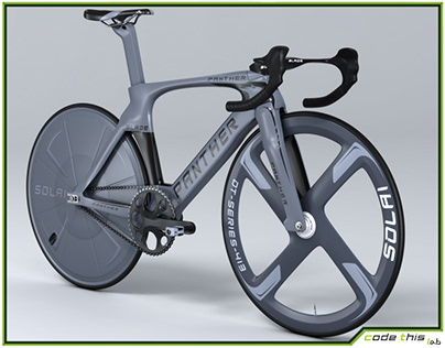 3D Model: Track Bicycle Animated HQ