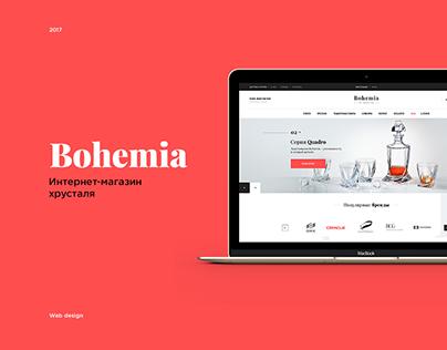 Bohemia - e-commerce website