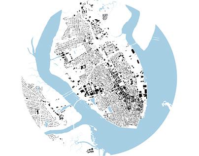 URBAN DESIGN_2015_Mapping exercise, Charleston, SC