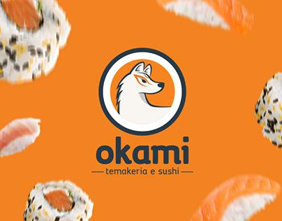 Okami Temakeria e Sushi | Identidade Visual
