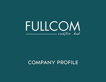 Fulcom Company Profile Design