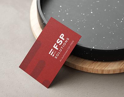 Business Card Design _ FSP Solutions