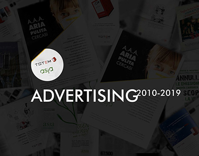 Advertising for Asja Ambiente Italia (© SIX Bianchetti)