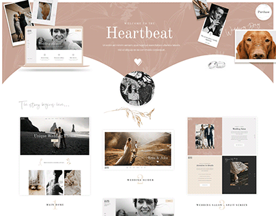 Heartbeat - - Wedding and Event Planner WordPress Theme