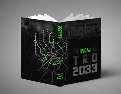 The Metro - book cover design