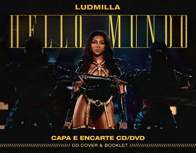 LUDMILLA - HELLO MUNDO // CAPA E ENCARTE / CD BOOKLET