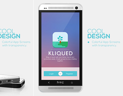KliQued Application iOS & Android