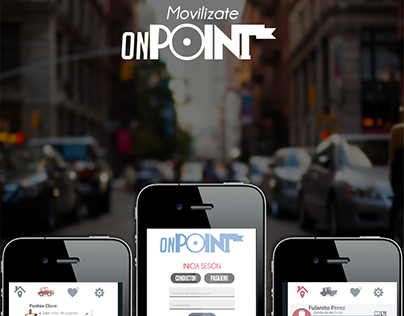 onPoint - Car Pooling App