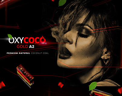 OXYCOCO Package Design - Coconut Coal
