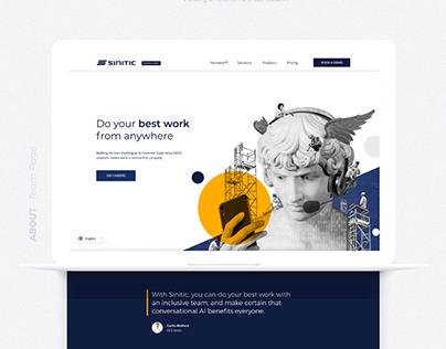 Chatbot Platform - Website